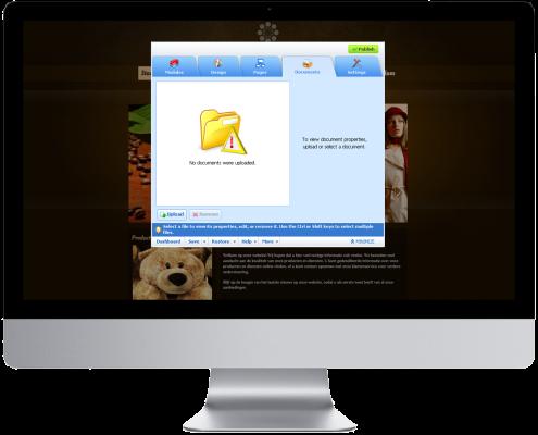 Sitebuilder documenten