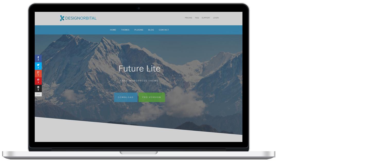 WordPress template 3