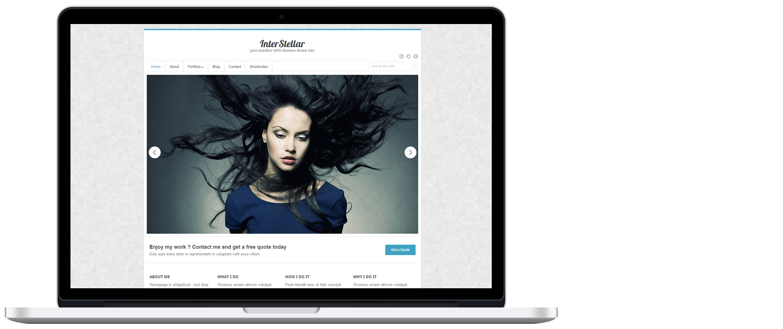 WordPress template 4