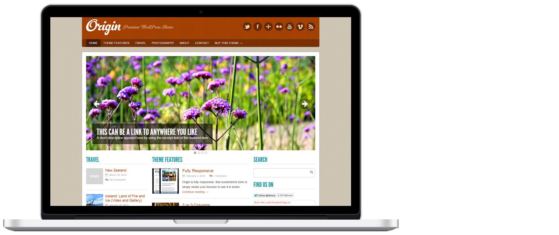 WordPress template 5