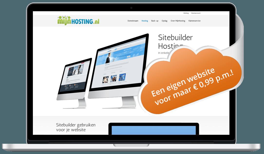 Goedkope website MijnHosting